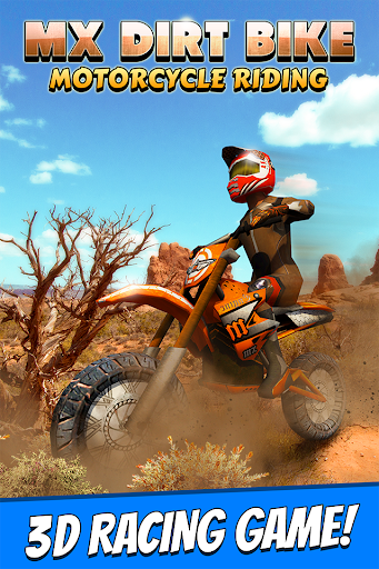 MX Dirt Bike Motorcycle Riding