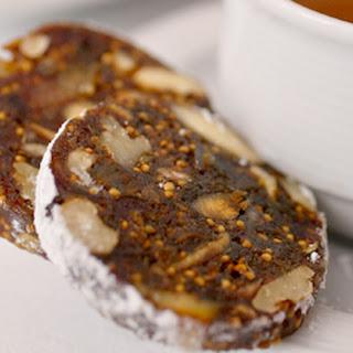 Chocolate, Fig And Almond Salami.
