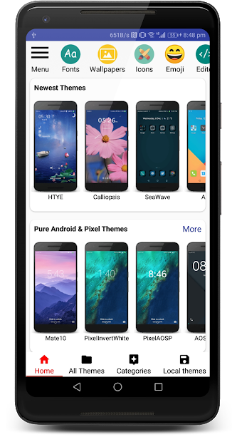 Themes Manager for Huawei / Honor EMUI v80 2 3 release [Pro]