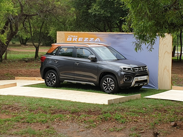 The new Suzuki Vitara Brezza will compete against vehicles like the Hyundai Venue and Renault Sandero Stepway in SA's competitive compact-SUV segment.