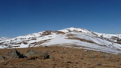 Photo: Le sommet est encore loin