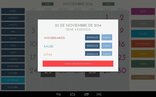 Calendario Android.Download Calendario Facil Para Android Google Play Softwares