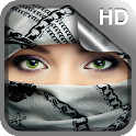 Muslim Girl Live Wallpaper HD icon