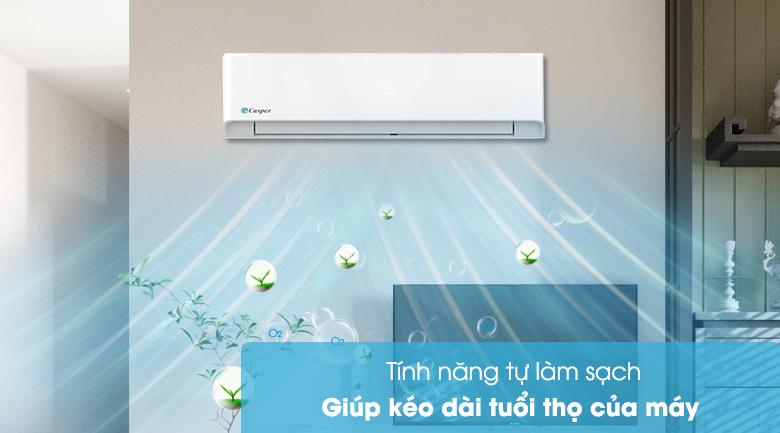 Máy lạnh Casper 1.5 HP LC-12FS32 - Tự làm sạch