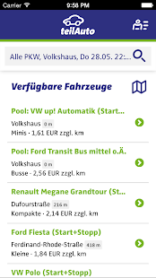 teilAuto Carsharing- screenshot thumbnail