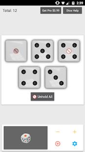 Dice - Ad Free! Screenshot