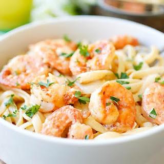 Crispy Shrimp Pasta