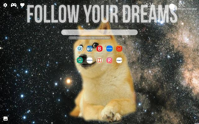 Doge Dog Wallpapers Meme New Tab