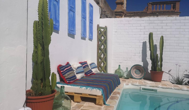 Maison avec piscine et jardin Villanueva del Río y Minas
