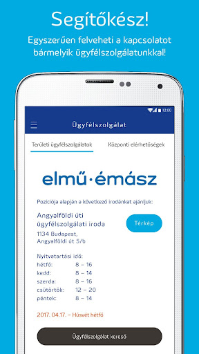 Elmű-Émász EnergiApp screenshot 5
