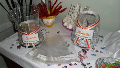 Photo: Sweets Table for your Guests by http://www.BestPartyPlanner.net