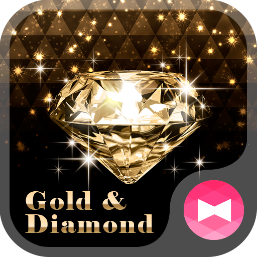 Rich Wallpaper Gold & Diamond Theme Icon