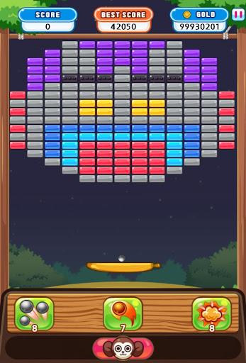 ブロック崩し : Angry Bricks