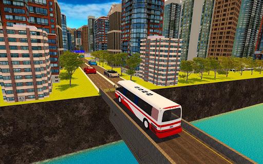 Télécharger Gratuit Moderne Ville Autobus Conduite Jeu Simulation 2018 APK MOD (Astuce) screenshots 3