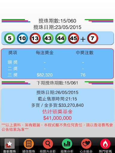 香港六合彩 Mark Six