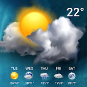 Live Weather Forecast Widget Icon