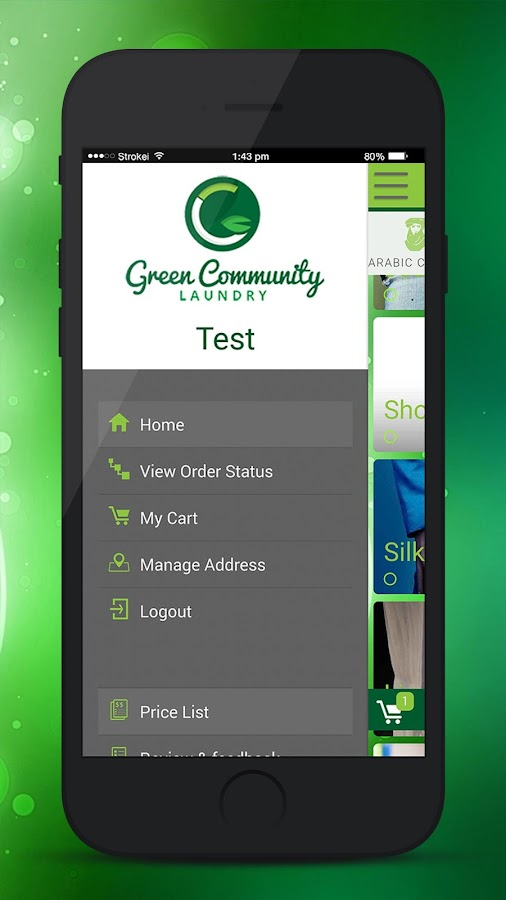 Green Community Laundry- screenshot
