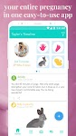 screenshot of Ovia Pregnancy Tracker: Baby Due Date Countdown
