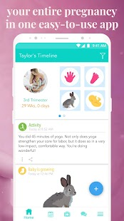 Ovia Pregnancy Tracker: Baby Due Date Countdown Screenshot