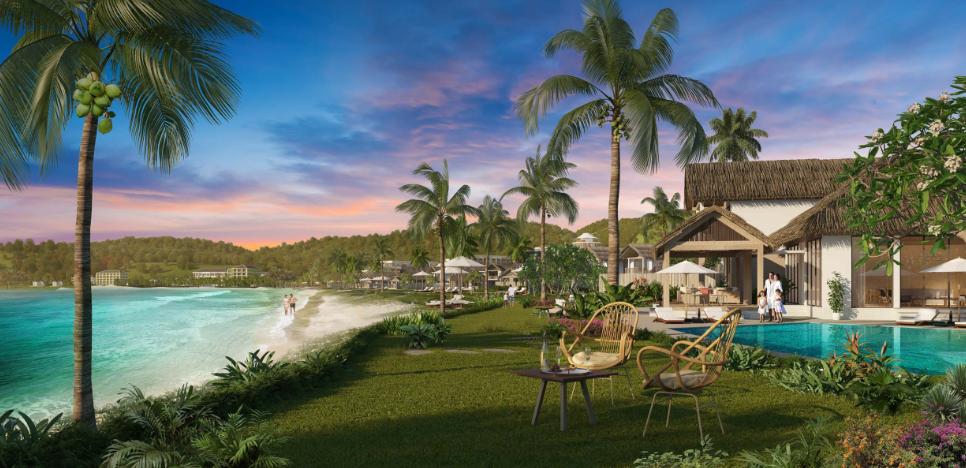 1 góc phối cảnh Kem Beach Resort
