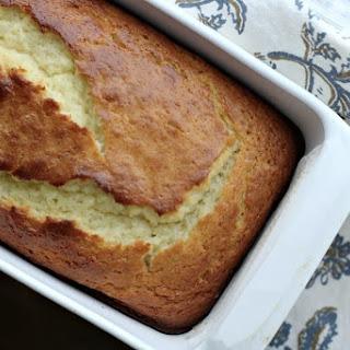 Vanilla Greek Yogurt & Olive Oil Pound Cake.