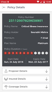 HDFC ERGO Insurance App Download For Android and iPhone 3