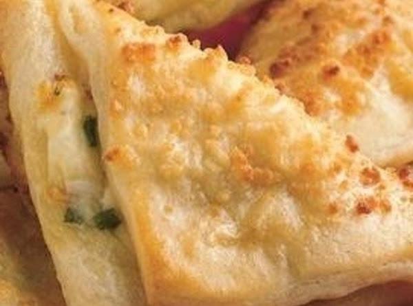 Spinach Asiago Triangles Recipe
