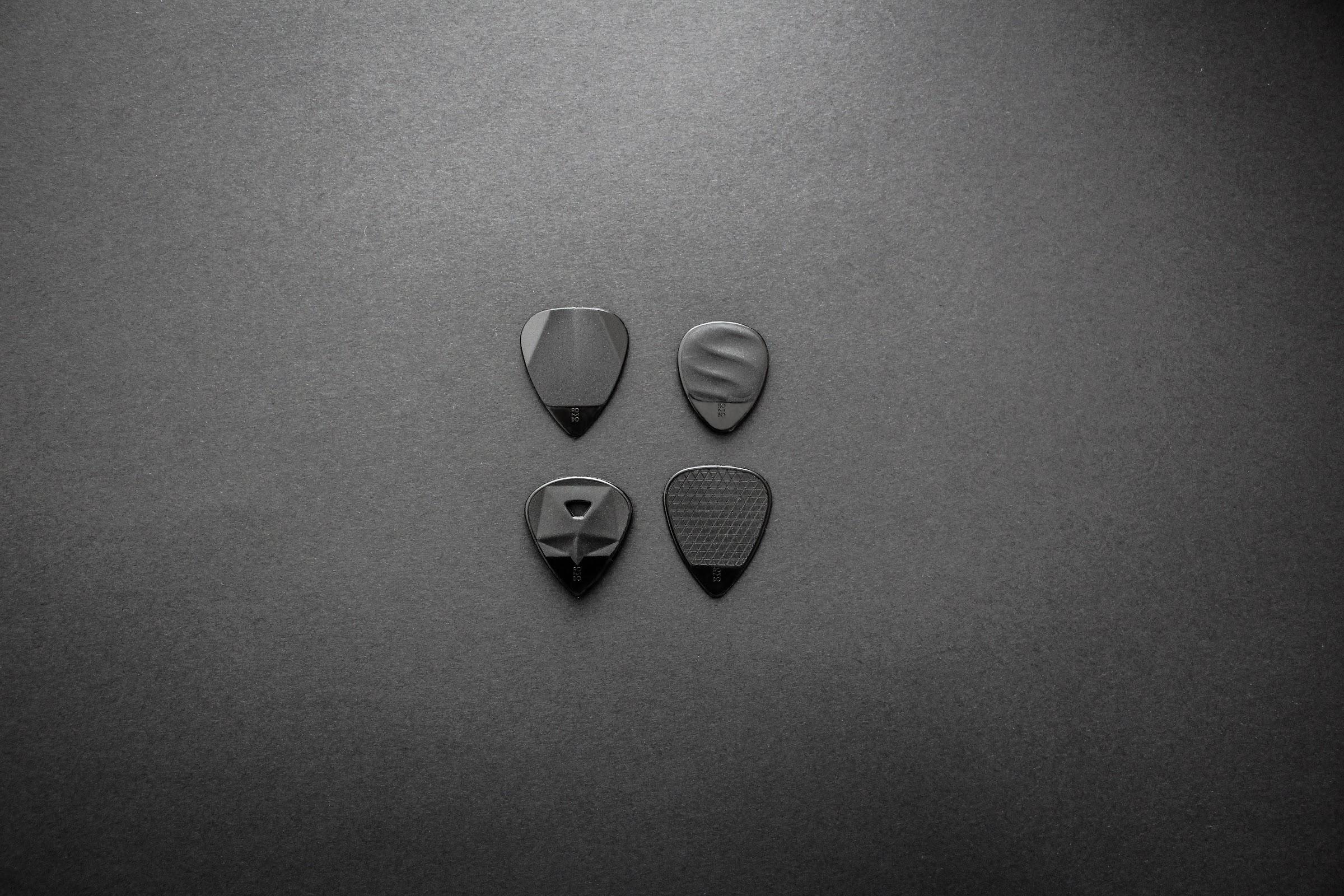 guitar pick eco black