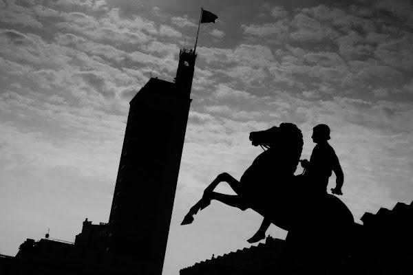 Cavaliere nero di Paolo Caruso