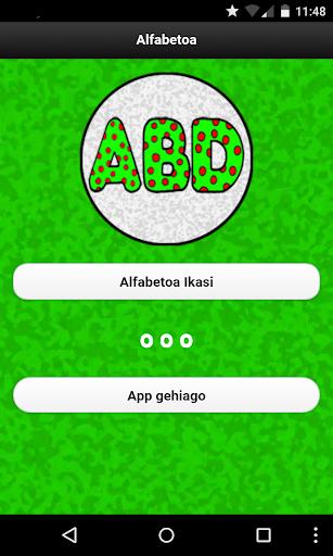 Alphabet in Basque