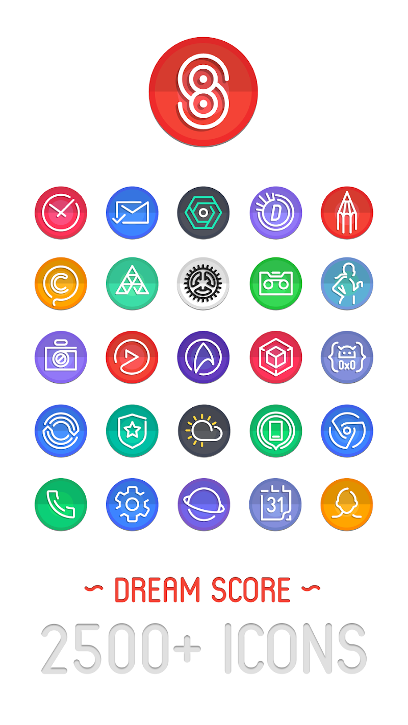 Dream Score ~ S8/S9 Icon Pack APK Cracked Free Download | Cracked
