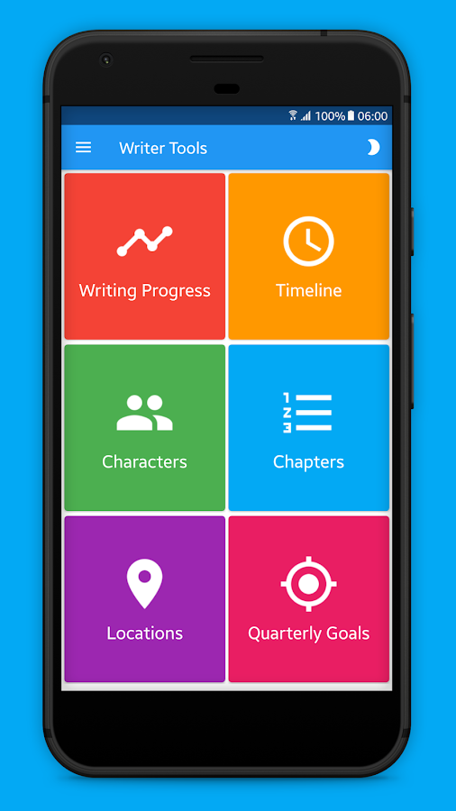 Writer Tools - Story Planner, Tracker & Editor- screenshot