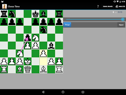 Chess Time® -Multiplayer Chess- screenshot thumbnail