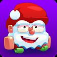 Huuuge Santa Ski