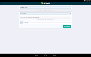 Screenshot of Sicoob