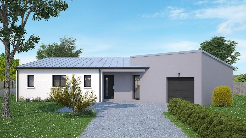 Vente maison 4 pièces 100 m² à Nouzilly (37380), 214 143 €