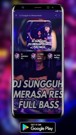 DJ Sungguh Ku Merasa Resah Terbaru MP3 1.0 screenshots 1