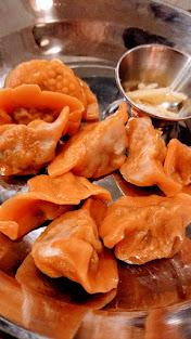 Portland Dumpling Week Danwei Canting dumplings, pork or spicy lamb