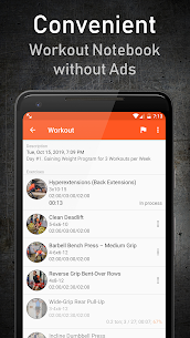 GymUp Workout Notebook PRO free download 1