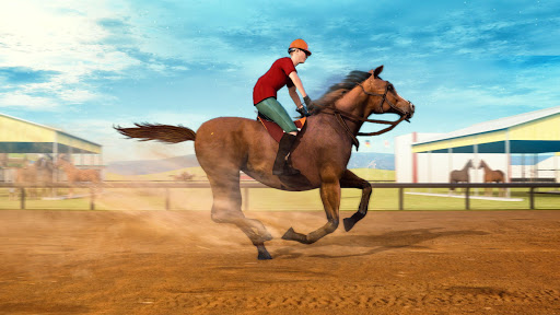 Horse Racing Games 2020: Horse Riding Derby Race apkmr screenshots 6