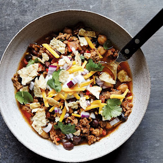 Slow-Cooker Beef and Two-Bean Chili.