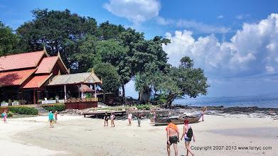 Photo: Resort in the Phi Phi Islands