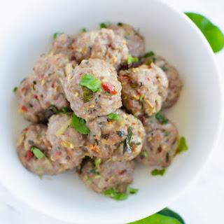 Laotian Meatballs