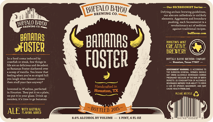Logo of Buffalo Bayou Bananas Foster