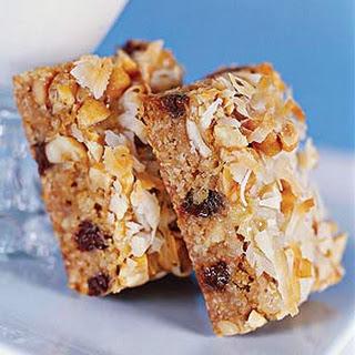 Caramel-Nut Chocolate Chip Bars.