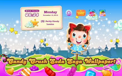 Candy Crush Soda Air Theme Screenshot