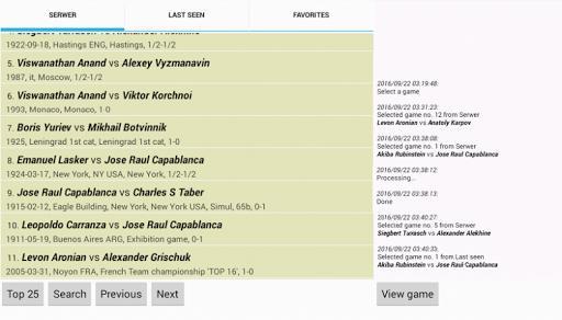 Chesser - a free chess viewer 1.7 screenshots 1
