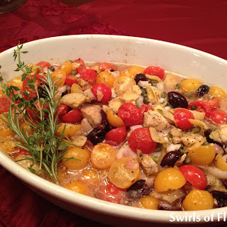 Smothered Tilapia Provencale.