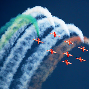 Air force  by Rajesh Kumar - Transportation Airplanes
