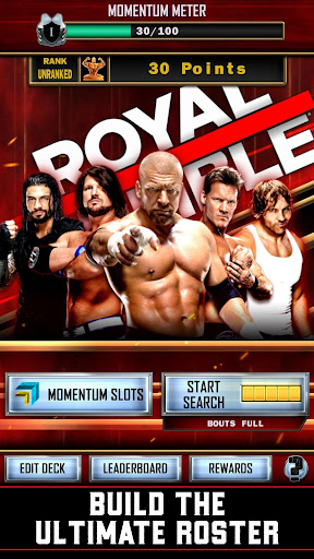 WWE SuperCard – Multiplayer Card Battle Game screenshot 2